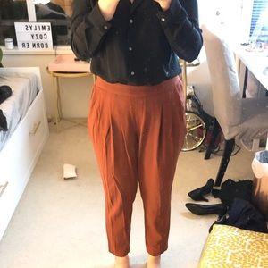 Babaton Cohen pants ( brick orange)